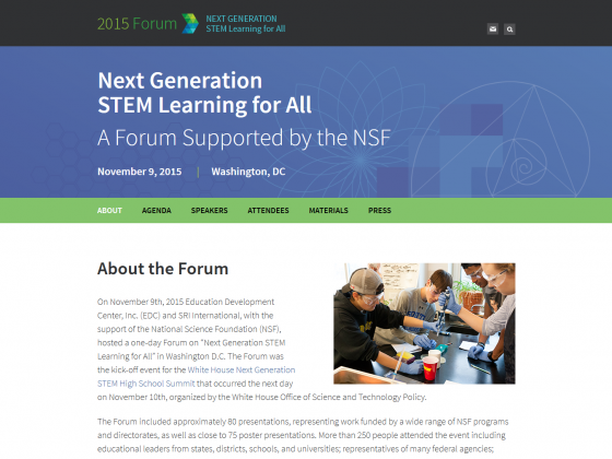NSF STEM Forum