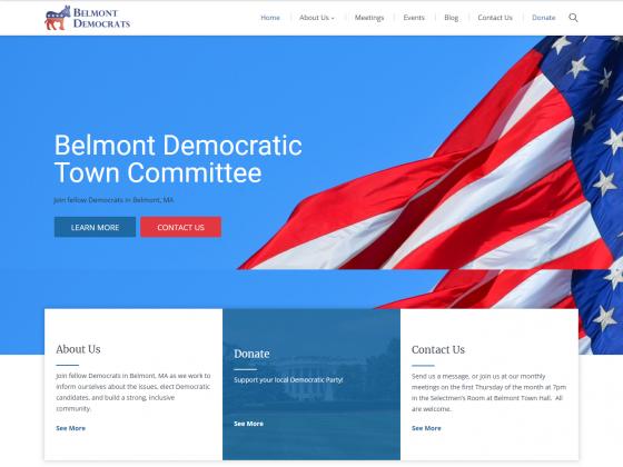 Belmont Democratic Town Committee